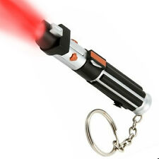 Star Wars: DARTH VADER Lightsaber Red LED Key Chain Torch - New - Sealed