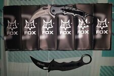 fox karambit the dart knife for self defense EDC knife fast deploy