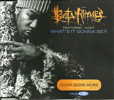 BUSTA RHYMES & JANET JACKSON What's it gonna Be CLEAN EDIT & VIDEO UK CD single