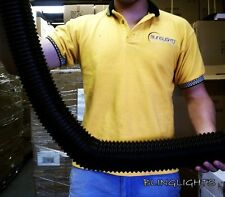 """3"""" Inch Cooling Extendable Cold Air Intake Flexible Hose Pipe CAI Tube 76mm Kit"""