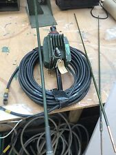 Used Military Co-Ax Cable, C type M FM + Complete Pineapple Antenna