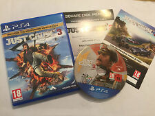 PLAYSTATION 4 PS4 GAME JUST CAUSE 3 III COMPLETE DISC EXCELLENT vehicle pack edi