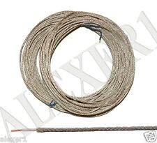 20m / 66 ft 0.12mm² / 26 AWG Military USSR Shielded Teflon PTFE Wire MGTFE