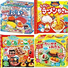 New Kracie Popin Cookin  4Item Sushi Ramen Japanese DIY Candy