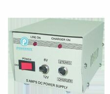 POWERMEX BATTERY ELIMINATOR CUM CHARGER( DC Power Supply) 6V/12V - 5AMP