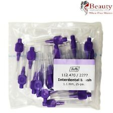 Tepe Interdental Brushes Purple 1.1mm 25 PACK With Caps Dental care