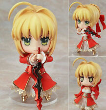 "Nendoroid 358 Saber Extra Fate/Stay Night Anime Figure Toy gifts 4""/10cm"