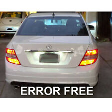 MERCEDES C-CLASS W204 XENON WHITE LED NUMBER PLATE LIGHT BULBS ERROR FREE