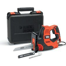BLACK+DECKER RS890K-GB 500 W Scorpion-Powered Hand Saw with Kitbox and Auto-S...
