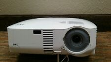 NEC VT 695 LCD Projector w/ NEW LAMP optics cleaned