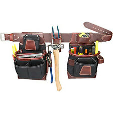 Occidental Leather 8580LG FatLip Tool Carpenter Fastener Bag Set - Large
