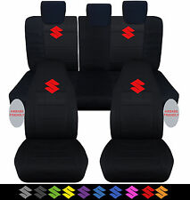 2005-2011 suzuki swift sport front(hiback)+rear car seat covers ,choose color