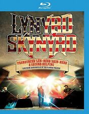 LYNYRD SKYNYRD - PRONOUNCED/SECOND HELPING: LIVE  BLU-RAY NEU