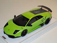 1/18 MR Lamborghini Murcielago LP670 SV Verde Itacha Alcantara base