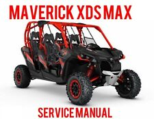 2016 CAN AM Maverick 1000 XDS MAX 4-Seater Service Shop Manual on CD