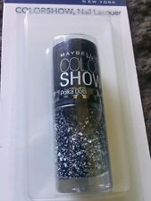 Maybelline Color Show Nail Polish 75 Clearly Spotted Polka Dots Black & White