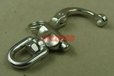 "2.6"" Quick release Stainless steel swivel snap shackle Marine Boat Sailing Yacht"