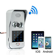 Wireless Wifi/IP Doorphone Video Camera Phone Intercom Doorbell IR Night Vision