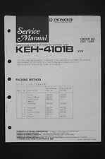 PIONEER KEH-4101B Voiture Cassette FM/AM Tuner manuel de Service/Amplificateur/