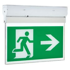 LED Non or Maintained Hanging Emergency Fire Exit Sign Light Surface3W HiSPEC