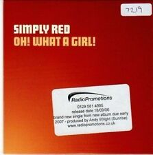 (BY216) Simply Red, Oh! What A Girl! - 2006 DJ CD