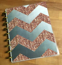 Rose Gold Collection Front & Back Cover Set made for use with HAPPY Planner