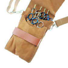 Hairdressing Hairstylist Suede Leather Hair Scissors Holster Pouch Bag
