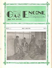 William Galloway Mogul 10-20 lubricating sys, Samson tractor Gas Engine magazine