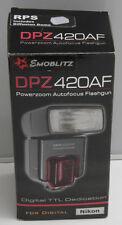 DPZ420AF Flash for Nikon Powerzoom RPS Digital TTL Shoe Mount - NEW K02