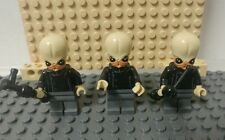 Lego Star Wars - Bith Musician Minifigure lot x3 - mos eisely - 75052 A New Hope