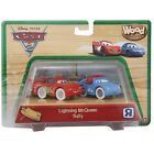 New DISNEY PIXAR CARS 2 WOOD COLLECTION Lightning McQueen Sally Perfect Gift