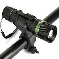 Zoomable 3000LM CREE Q5 LED Flashlight Bike Cycling Front Lamp Headlight  Sets