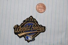 "1995 World Series 2 3/8"" Logo Patch Atlanta vs Cleveland Baseball"