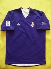 4.9/5 REAL MADRID CENTENARY JERSEY 2001/2002 ORIGINAL FOOTBALL SHIRT SIZE M (L)