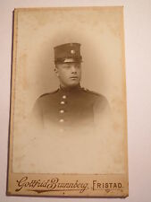 Fristad - Soldat ? in Uniform - Regiment Nr. 15 - Nr. 7 an Mütze / CDV Schweden
