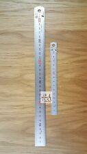 Shinwa Package 150mm + 300mm Scale Stainless Steel Ruler JQA1 Pocket Rule