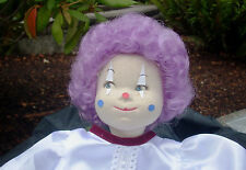 "Doll Wig - W802c Clown Color size 12""(head): CHOICE of color."