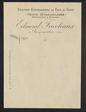 """ROZOY-sur-SERRE (02) USINE de GRAINES FOURRAGERES """"Edmond FRICOTEAUX"""" début 1900"""