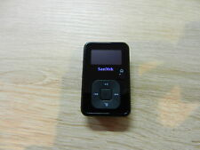 Defekt SanDisk Sansa Clip SDMX18-008G-E46K 8GB MP3-Player schwarz   ( CN0420 )