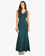 New Phase Eight Abigail Green Sweetheart Fishtail Evening Gown Dress Size 12 NWT