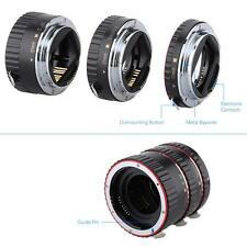 For Canon EOS EF EF-S Camera Metal AF Auto Focus Macro Extension Tube Set R0E9