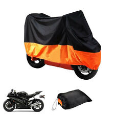 XXXL Orange Motorcycle Cover For Harley Davidson Heritage Softail Classic