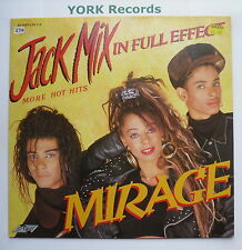 MIRAGE - Jack Mix In Full Effect - Excellent Condition LP Record Stylus SMR 856