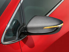 Kia (Genuine OE) Ceed 2012-2016 Door mirror caps, Carbon Fibre Look