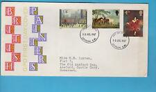 GPO First Day Cover British Painters with 1967 London SW Postmark