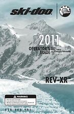 Ski-Doo owners manual book 2011 REV-XR Grand Touring LE & Grand Touring SE