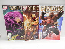 Darkstar & The Winter Guard Marvel Comic Books 1-3 X-Men Back-Up Stories