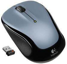 Logitech M325 Wireless Mouse - Light Silver w/unifying receiver PC Mac