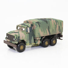 Rare Disney Pixar Cars Diecast Andy Gearsdale Military Army Truck Car Kids Toy