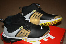 New Mens NIKE AIR PRESTO MID UTILITY running athletic shoes 12 EUR 46 black
